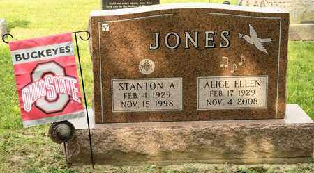 JONES, STANTON A - Richland County, Ohio | STANTON A JONES - Ohio Gravestone Photos