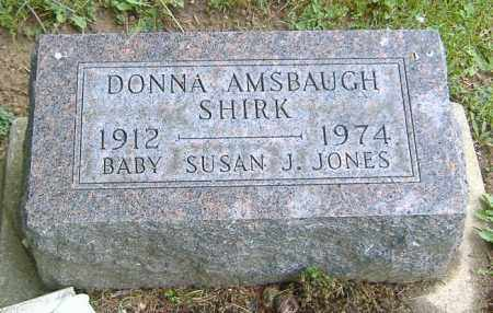 JONES-SHIRK, DONNA - Richland County, Ohio | DONNA JONES-SHIRK - Ohio Gravestone Photos