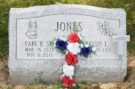 JONES SR, CARL E - Richland County, Ohio | CARL E JONES SR - Ohio Gravestone Photos