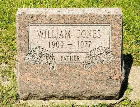 JONES, WILLIAM - Richland County, Ohio | WILLIAM JONES - Ohio Gravestone Photos