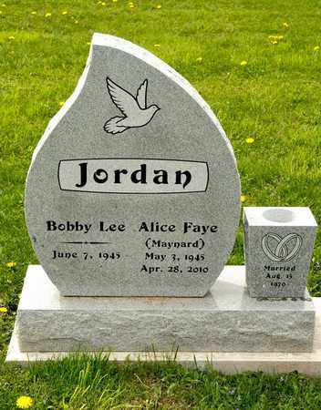 MAYNARD JORDAN, ALICE FAYE - Richland County, Ohio | ALICE FAYE MAYNARD JORDAN - Ohio Gravestone Photos