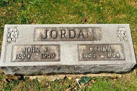 JORDAN, JOHN J - Richland County, Ohio | JOHN J JORDAN - Ohio Gravestone Photos