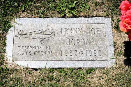 JORDAN, LENNY JOE - Richland County, Ohio | LENNY JOE JORDAN - Ohio Gravestone Photos