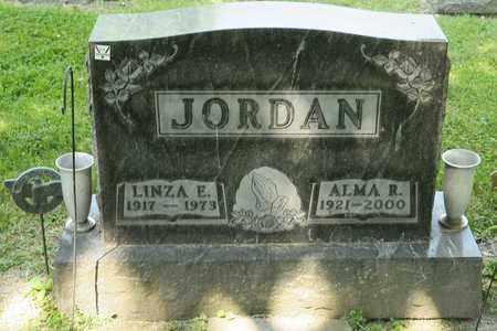 JORDAN, LINZA E - Richland County, Ohio | LINZA E JORDAN - Ohio Gravestone Photos