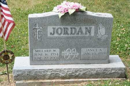 JORDAN, MILLARD W - Richland County, Ohio | MILLARD W JORDAN - Ohio Gravestone Photos