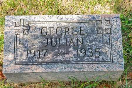 JULIAN, GEORGE - Richland County, Ohio | GEORGE JULIAN - Ohio Gravestone Photos