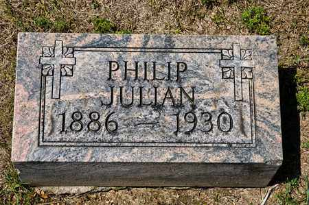 JULIAN, PHILIP - Richland County, Ohio | PHILIP JULIAN - Ohio Gravestone Photos