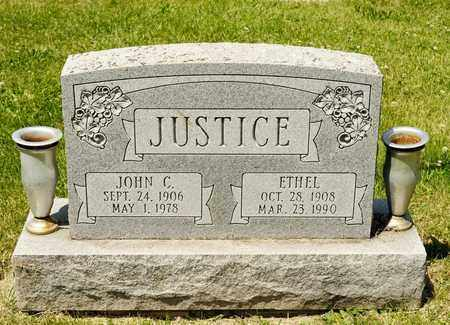 JUSTICE, JOHN C - Richland County, Ohio | JOHN C JUSTICE - Ohio Gravestone Photos
