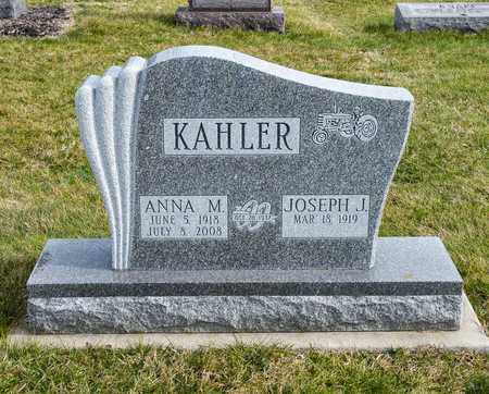 KAHLER, ANNA M - Richland County, Ohio | ANNA M KAHLER - Ohio Gravestone Photos