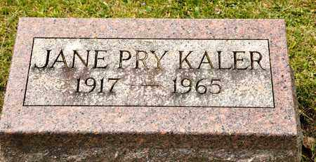 KALER, JANE - Richland County, Ohio | JANE KALER - Ohio Gravestone Photos