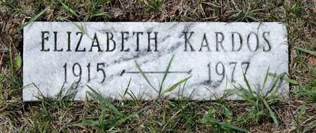 KARDO, ELIZABETH - Richland County, Ohio | ELIZABETH KARDO - Ohio Gravestone Photos