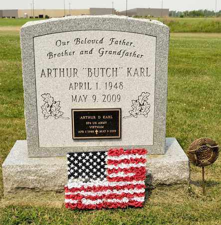 KARL, ARTHUR - Richland County, Ohio | ARTHUR KARL - Ohio Gravestone Photos