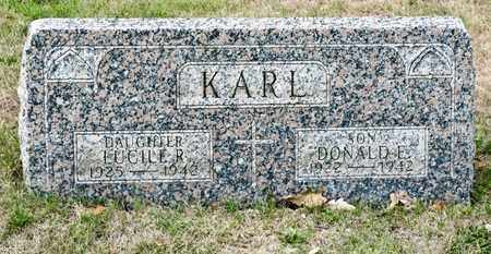 KARL, DONALD E - Richland County, Ohio | DONALD E KARL - Ohio Gravestone Photos