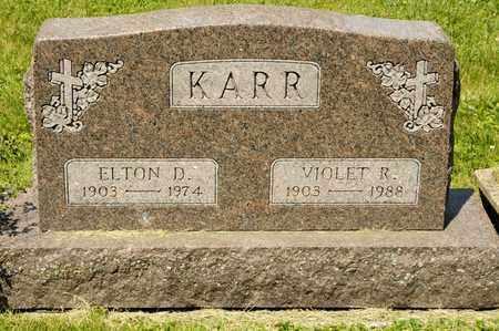 KARR, ELTON D - Richland County, Ohio | ELTON D KARR - Ohio Gravestone Photos