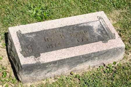 KARR, IDA B - Richland County, Ohio | IDA B KARR - Ohio Gravestone Photos