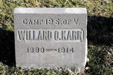 KARR, WILLARD O - Richland County, Ohio | WILLARD O KARR - Ohio Gravestone Photos