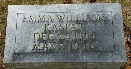 WILLIAMS KASPAR, EMMA - Richland County, Ohio | EMMA WILLIAMS KASPAR - Ohio Gravestone Photos