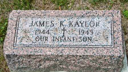 KAYLOR, JAMES K - Richland County, Ohio | JAMES K KAYLOR - Ohio Gravestone Photos