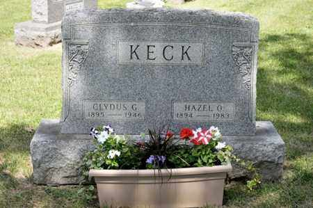 KECK, CLYDUS G - Richland County, Ohio | CLYDUS G KECK - Ohio Gravestone Photos
