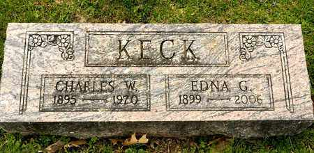 KECK, CHARLES W - Richland County, Ohio | CHARLES W KECK - Ohio Gravestone Photos