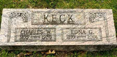 KECK, EDNA G - Richland County, Ohio | EDNA G KECK - Ohio Gravestone Photos