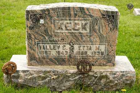 KECK, ETTA M - Richland County, Ohio | ETTA M KECK - Ohio Gravestone Photos