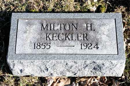 KECKLER, MILTON H - Richland County, Ohio | MILTON H KECKLER - Ohio Gravestone Photos