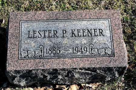 KEENER, LESTER P - Richland County, Ohio | LESTER P KEENER - Ohio Gravestone Photos