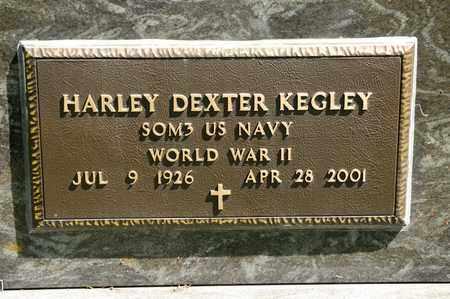 KEGLEY, HARLEY DEXTER - Richland County, Ohio | HARLEY DEXTER KEGLEY - Ohio Gravestone Photos