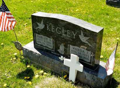 KEGLEY, HARLEY D - Richland County, Ohio | HARLEY D KEGLEY - Ohio Gravestone Photos