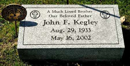 KEGLEY, JOHN F - Richland County, Ohio | JOHN F KEGLEY - Ohio Gravestone Photos