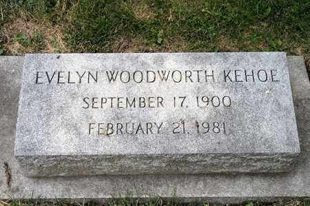KEHOE, EVELYN - Richland County, Ohio | EVELYN KEHOE - Ohio Gravestone Photos