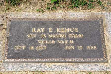 KEHOE, RAY E - Richland County, Ohio | RAY E KEHOE - Ohio Gravestone Photos