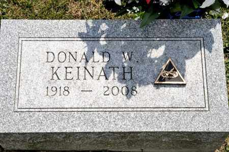 KEINATH, DONALD W - Richland County, Ohio | DONALD W KEINATH - Ohio Gravestone Photos