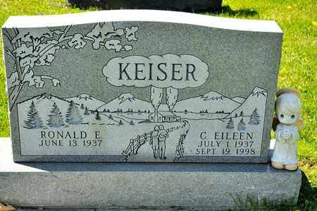 KEISER, C EILEEN - Richland County, Ohio | C EILEEN KEISER - Ohio Gravestone Photos