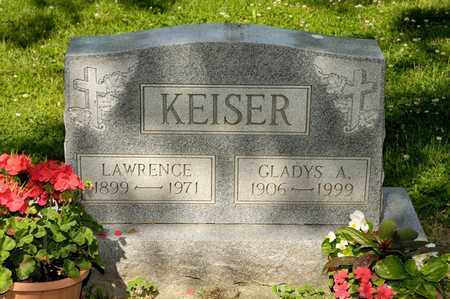 KEISER, LAWRENCE - Richland County, Ohio | LAWRENCE KEISER - Ohio Gravestone Photos