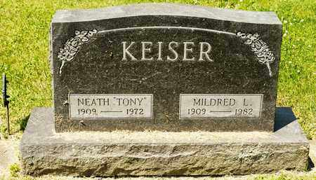 KEISER, MILDRED L - Richland County, Ohio | MILDRED L KEISER - Ohio Gravestone Photos