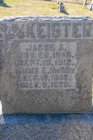 KEISTER, JACOB A - Richland County, Ohio | JACOB A KEISTER - Ohio Gravestone Photos