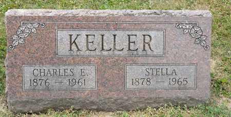 KELLER, CHARLES E - Richland County, Ohio | CHARLES E KELLER - Ohio Gravestone Photos
