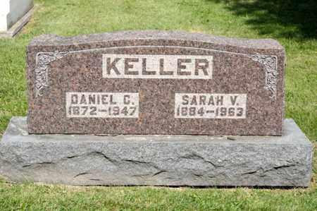 KELLER, SARAH V - Richland County, Ohio | SARAH V KELLER - Ohio Gravestone Photos