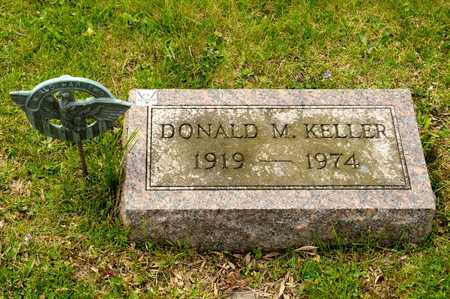 KELLER, DONALD M - Richland County, Ohio | DONALD M KELLER - Ohio Gravestone Photos