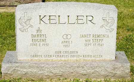 KELLER, DAHRYL EUGENE - Richland County, Ohio | DAHRYL EUGENE KELLER - Ohio Gravestone Photos