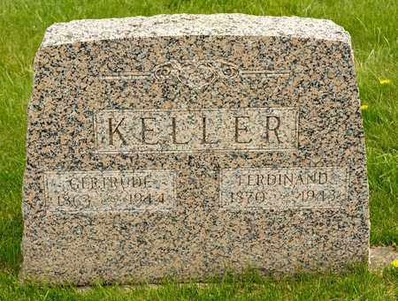 KELLER, GERTRUDE - Richland County, Ohio | GERTRUDE KELLER - Ohio Gravestone Photos