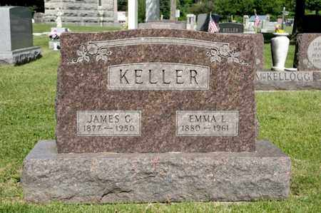 KELLER, EMMA L - Richland County, Ohio | EMMA L KELLER - Ohio Gravestone Photos