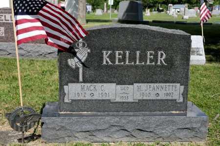 KELLER, M JEANNETTE - Richland County, Ohio | M JEANNETTE KELLER - Ohio Gravestone Photos