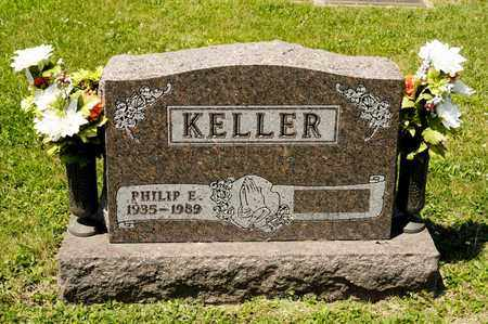 KELLER, PHILIP E - Richland County, Ohio | PHILIP E KELLER - Ohio Gravestone Photos