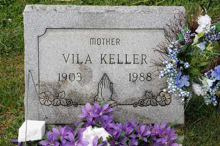 KELLER, VILA - Richland County, Ohio | VILA KELLER - Ohio Gravestone Photos
