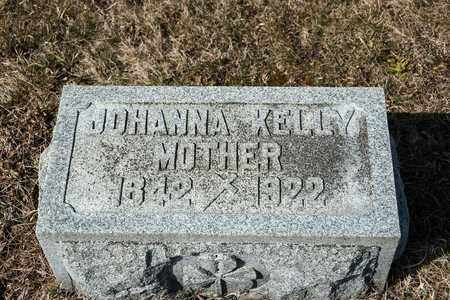 KELLY, JOHANNA - Richland County, Ohio | JOHANNA KELLY - Ohio Gravestone Photos