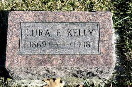 KELLY, LURA E - Richland County, Ohio | LURA E KELLY - Ohio Gravestone Photos