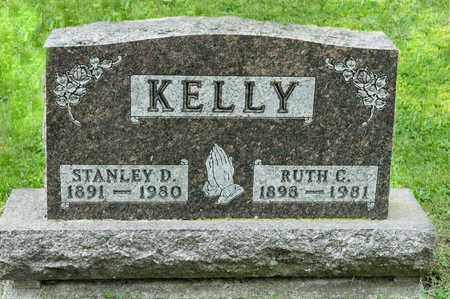 KELLY, STANLEY D - Richland County, Ohio | STANLEY D KELLY - Ohio Gravestone Photos